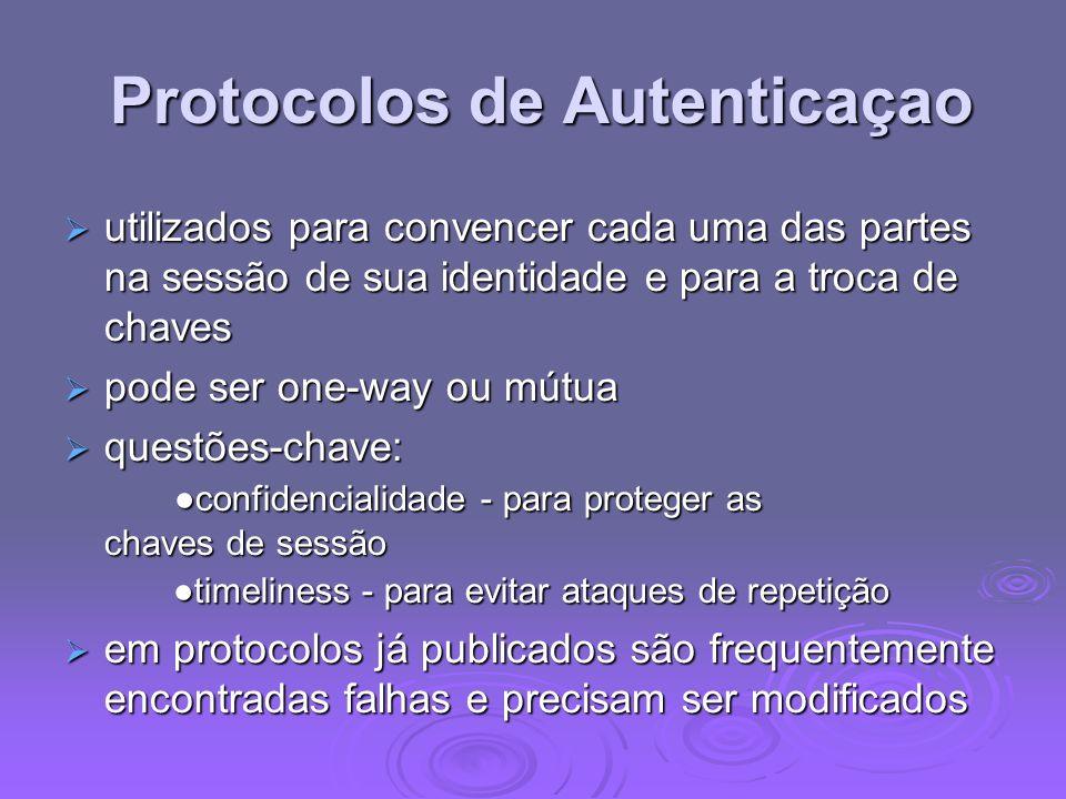 Protocolos de Autenticaçao