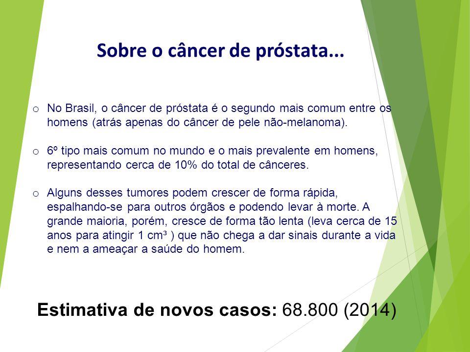 Sobre o câncer de próstata...