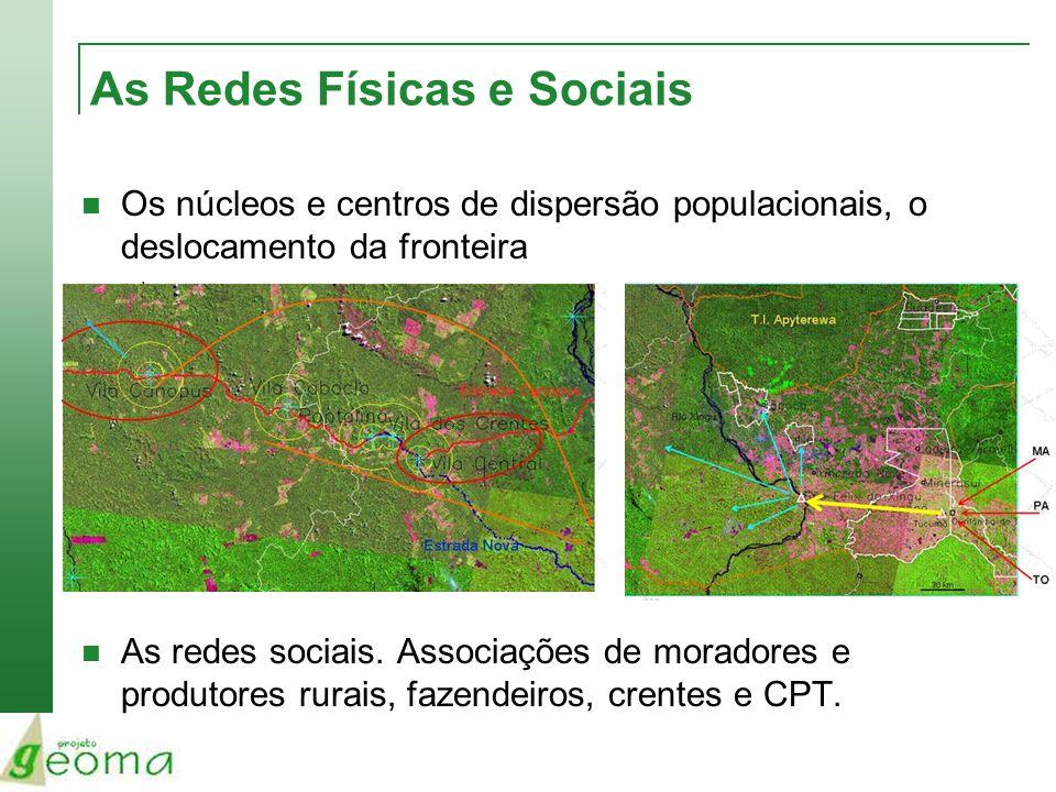 As Redes Físicas e Sociais