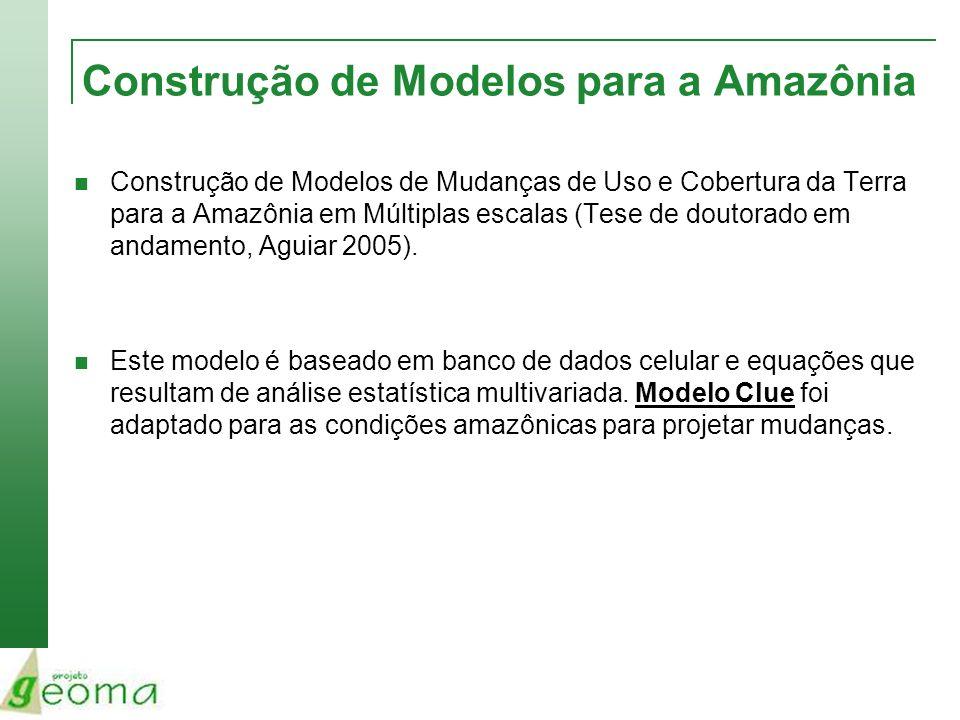 Construção de Modelos para a Amazônia