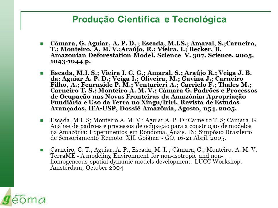 Produção Científica e Tecnológica