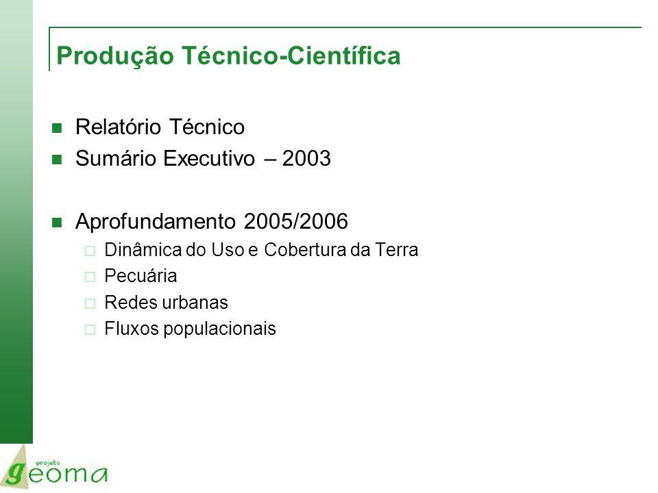 Produção Técnico-Científica