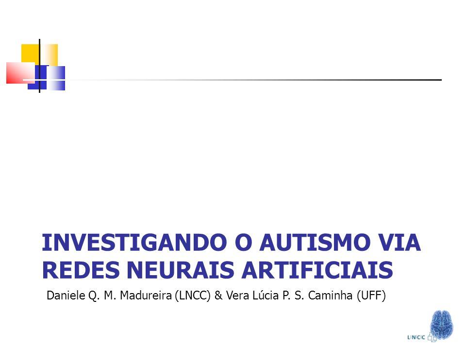Investigando o autismo via redes neurais Artificiais