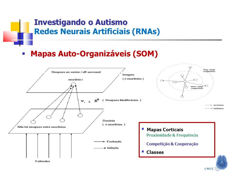 Investigando o Autismo Redes Neurais Artificiais (RNAs)