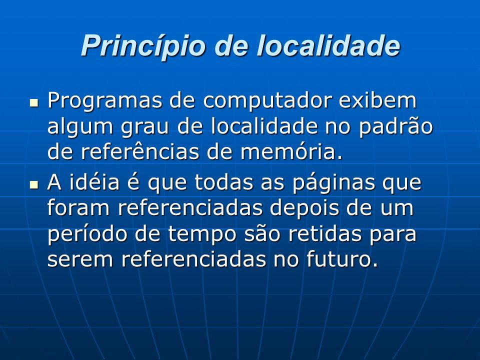Princípio de localidade