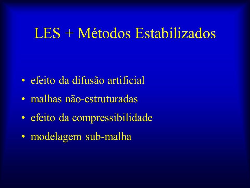 LES + Métodos Estabilizados