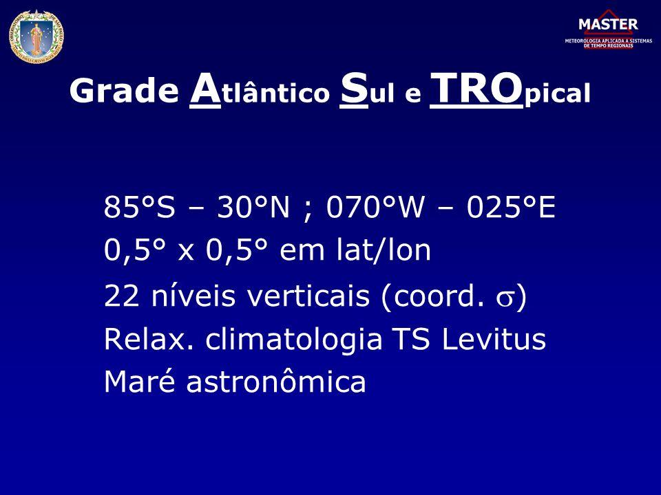 Grade Atlântico Sul e TROpical