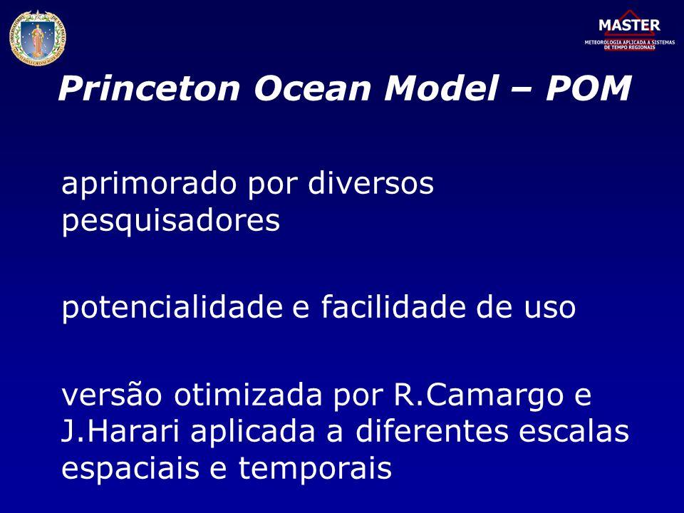 Princeton Ocean Model – POM