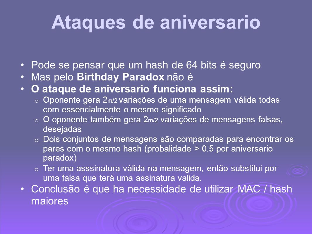 Ataques de aniversario