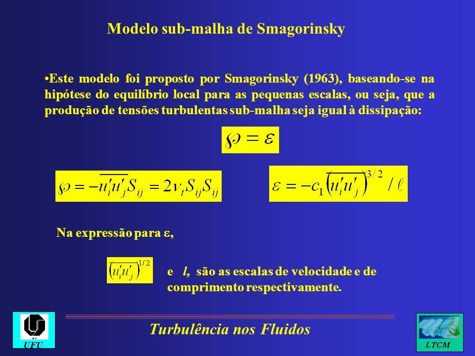 Modelo sub-malha de Smagorinsky