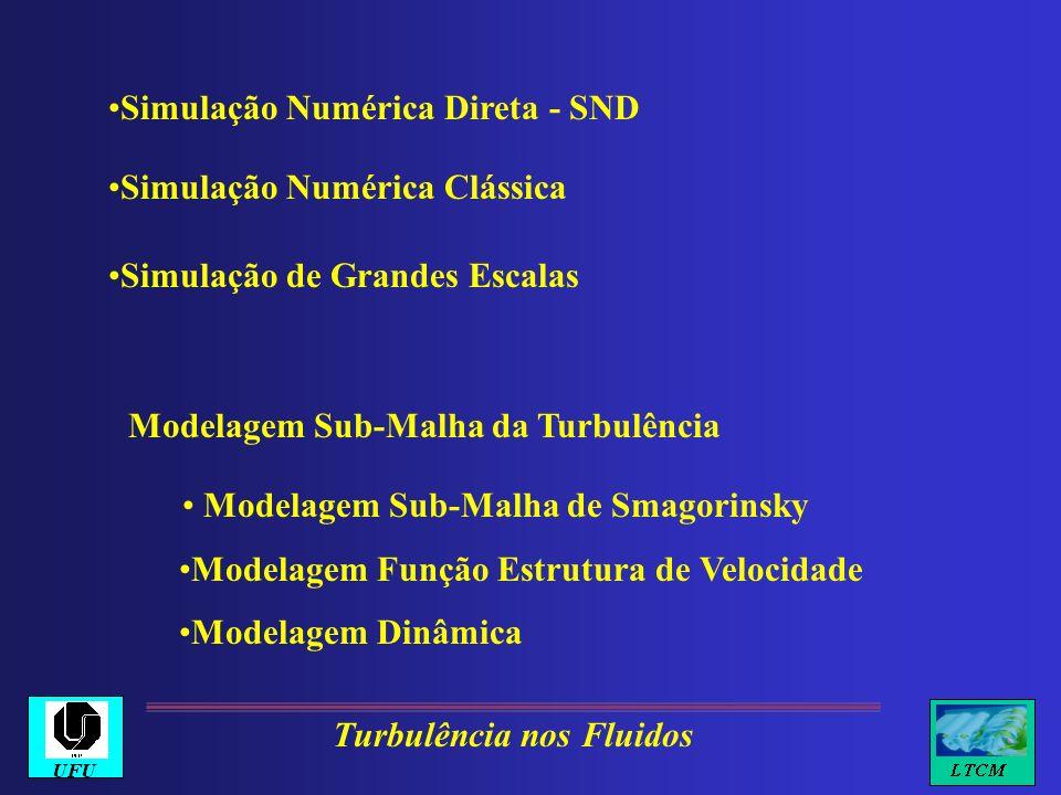 Modelagem Sub-Malha da Turbulência Modelagem Sub-Malha de Smagorinsky