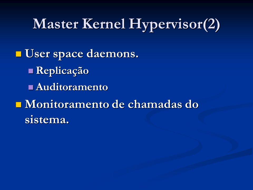 Master Kernel Hypervisor(2)