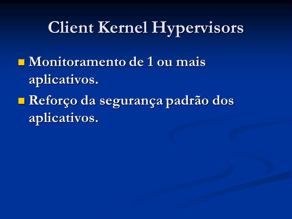 Client Kernel Hypervisors