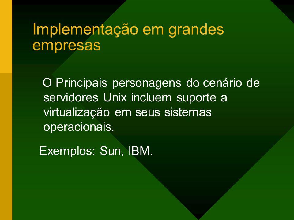 Implementação em grandes empresas
