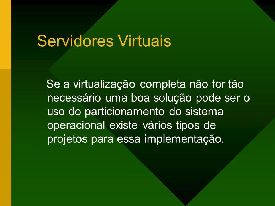 Servidores Virtuais