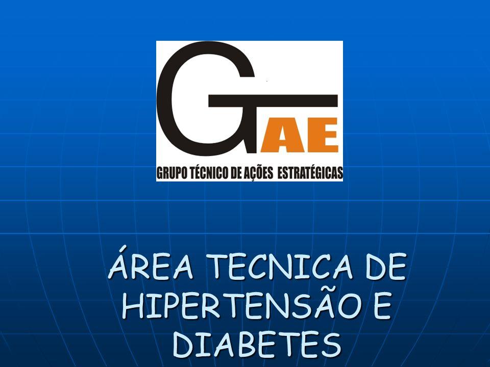 ÁREA TECNICA DE HIPERTENSÃO E DIABETES