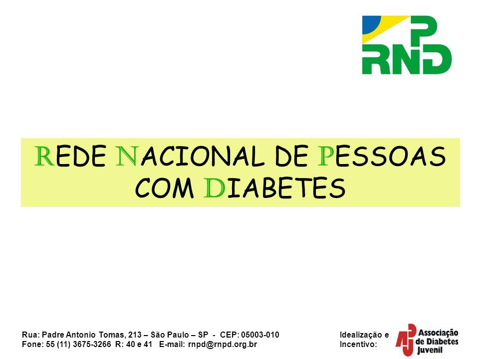 REDE NACIONAL DE PESSOAS COM DIABETES
