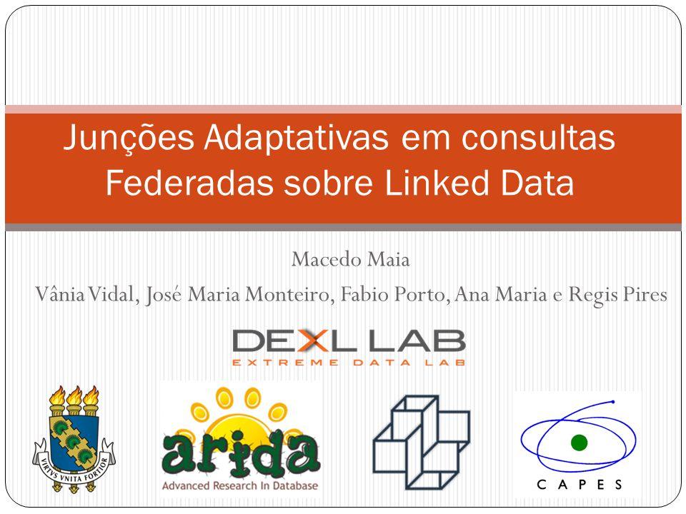 Junções Adaptativas em consultas Federadas sobre Linked Data