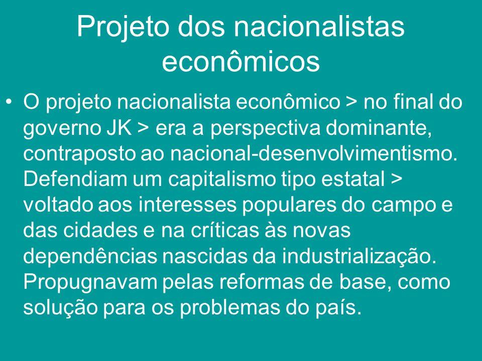 Projeto dos nacionalistas econômicos