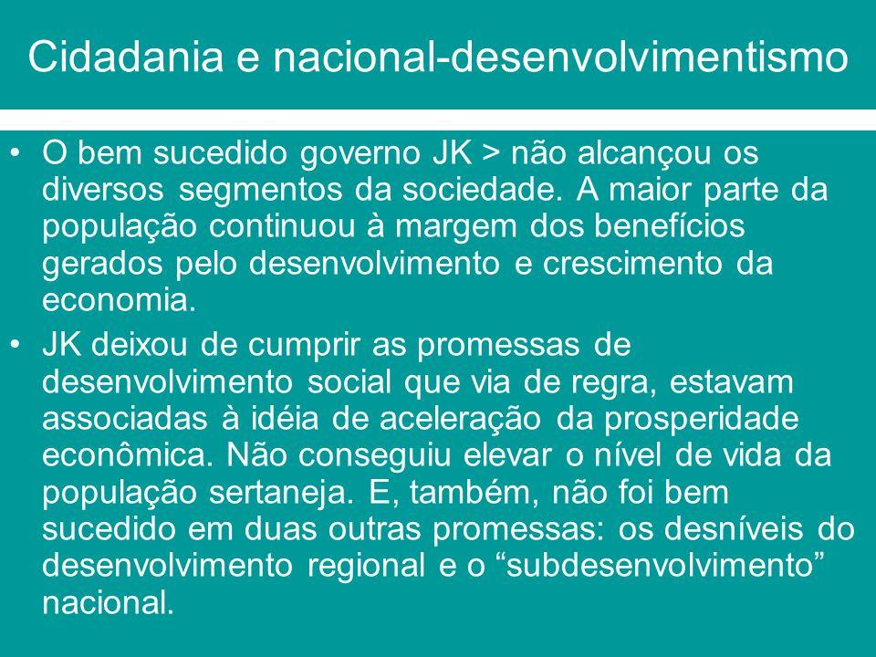 Cidadania e nacional-desenvolvimentismo