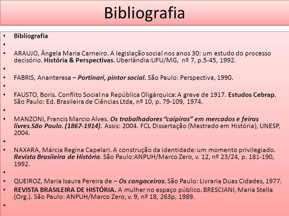 Bibliografia Bibliografia