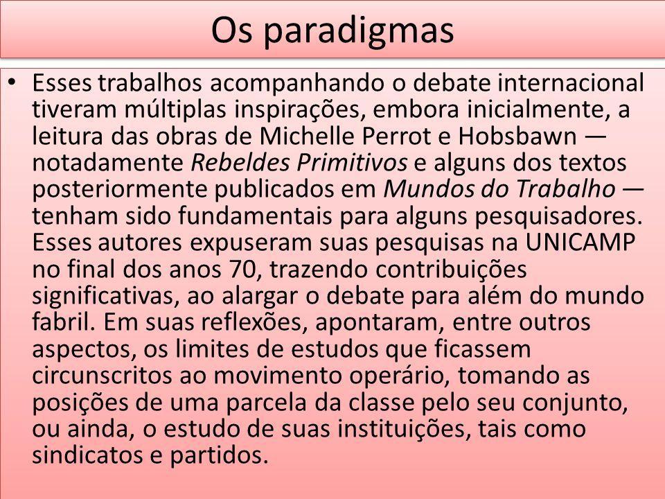 Os paradigmas