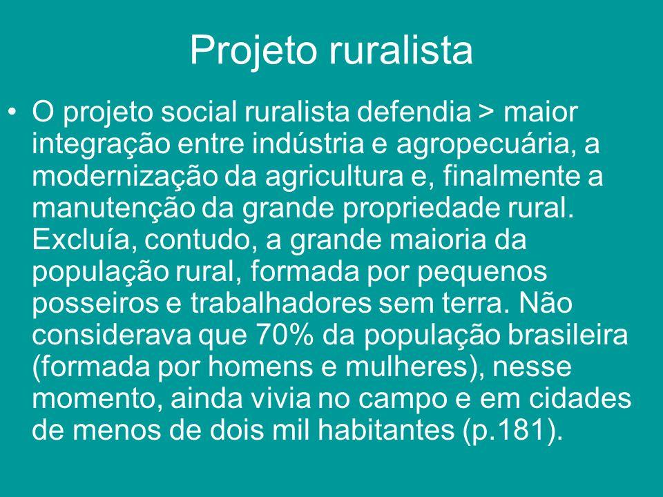 Projeto ruralista