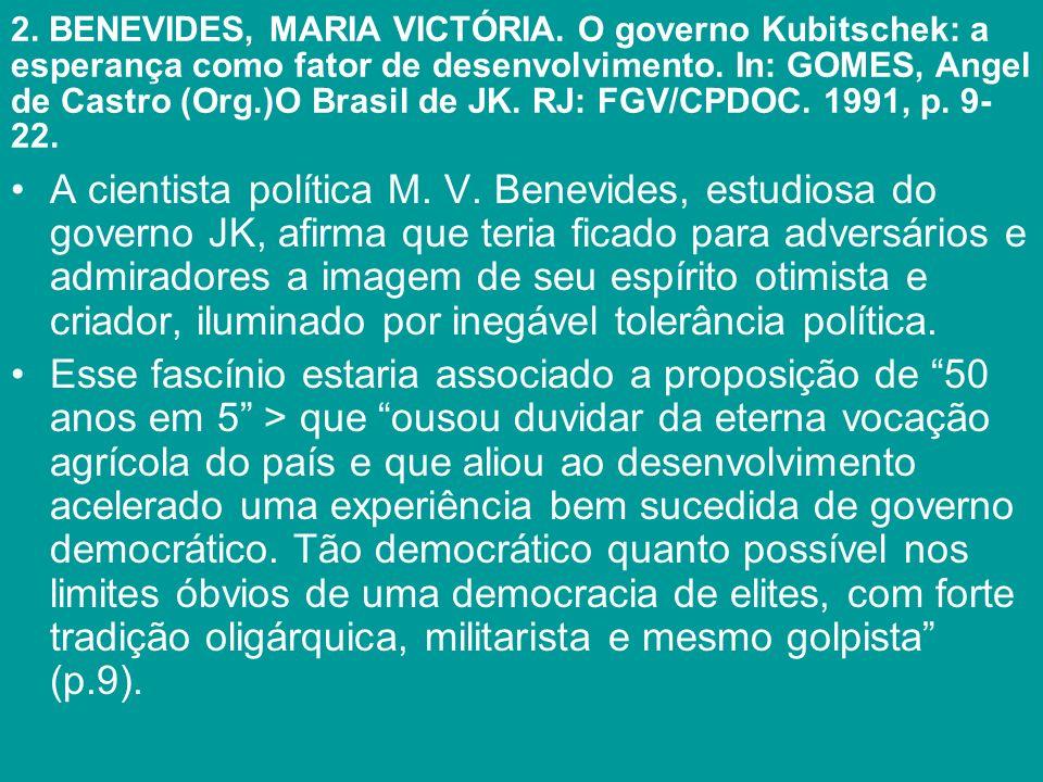 2. BENEVIDES, MARIA VICTÓRIA