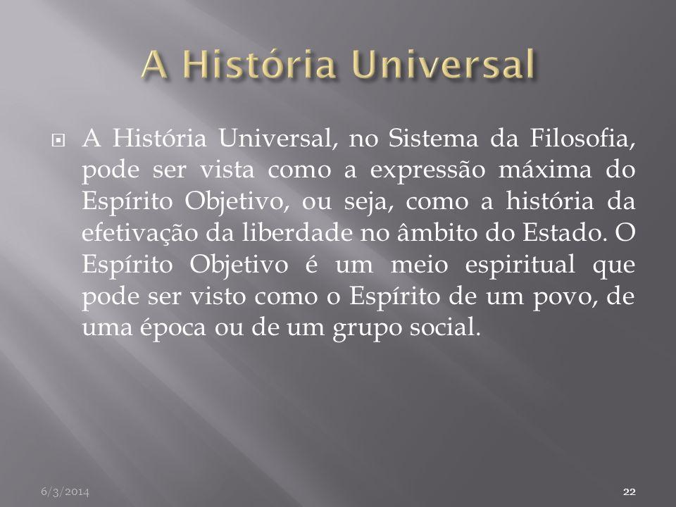 A História Universal