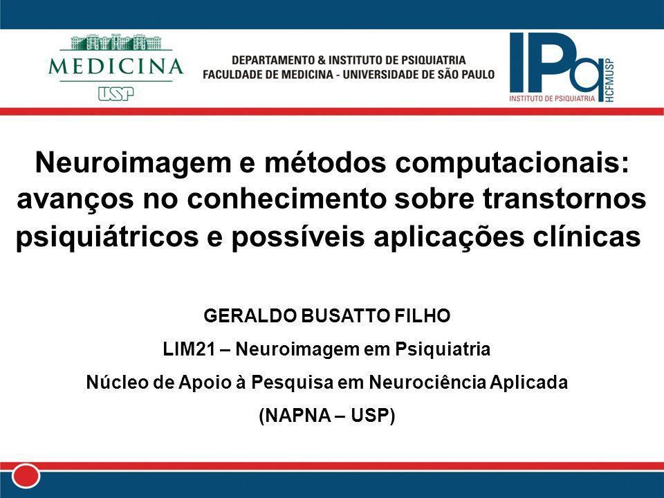 Neuroimagem e métodos computacionais: avanços no conhecimento sobre transtornos psiquiátricos e possíveis aplicações clínicas
