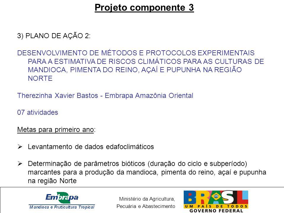 Projeto componente 3 3) PLANO DE AÇÃO 2: