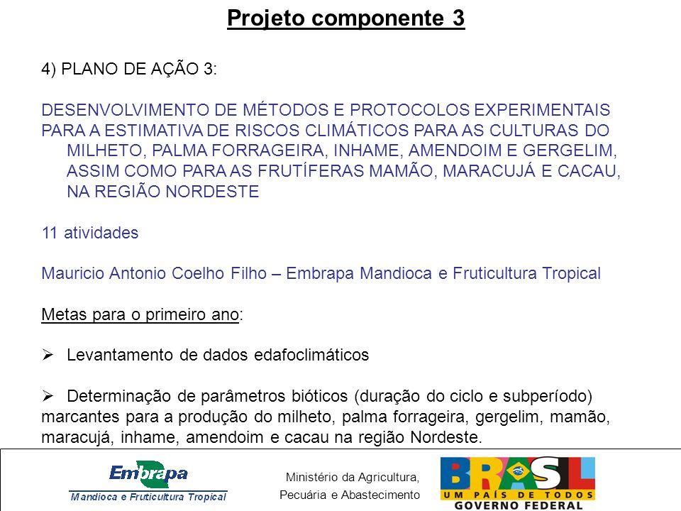 Projeto componente 3 4) PLANO DE AÇÃO 3: