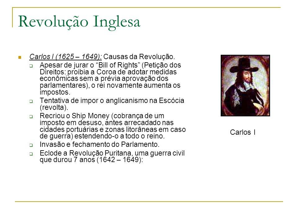 Revolução Inglesa Carlos I