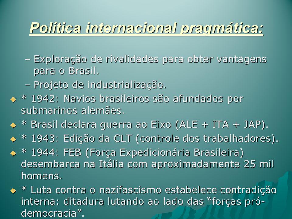 Política internacional pragmática: