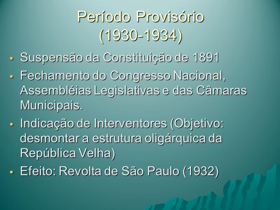 Período Provisório (1930-1934)