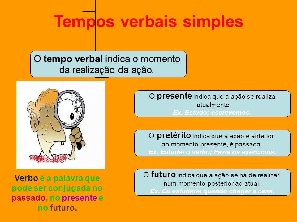 Tempos verbais simples