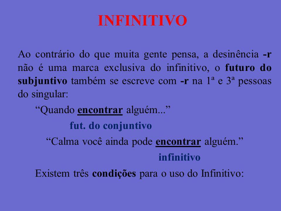INFINITIVO