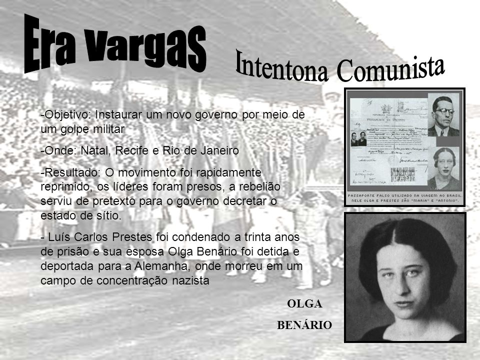 Era Vargas Intentona Comunista