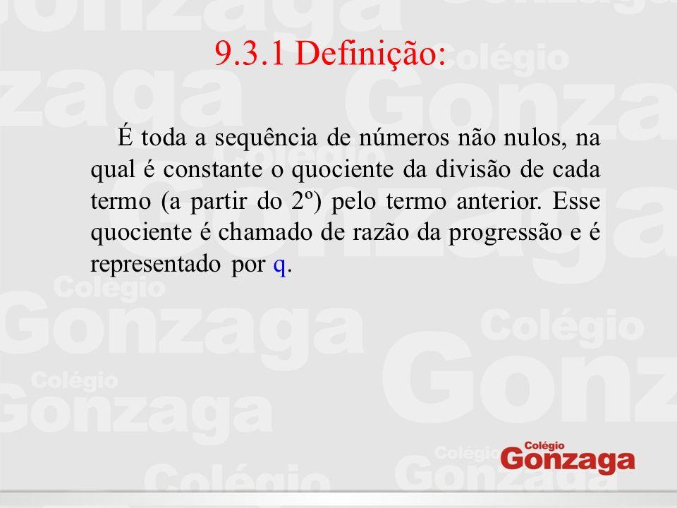 9.3.1 Definição: