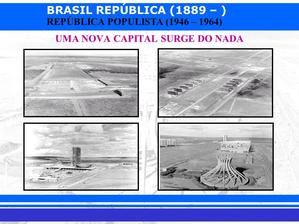 UMA NOVA CAPITAL SURGE DO NADA