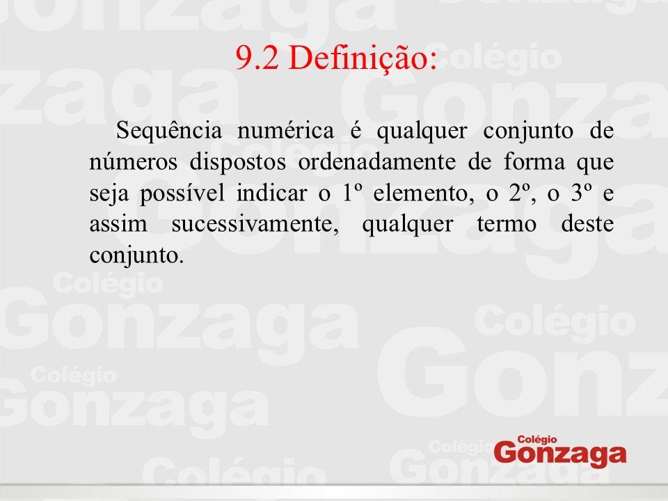 9.2 Definição: