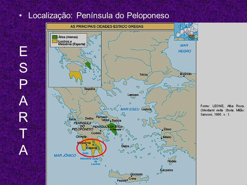 Localização: Península do Peloponeso