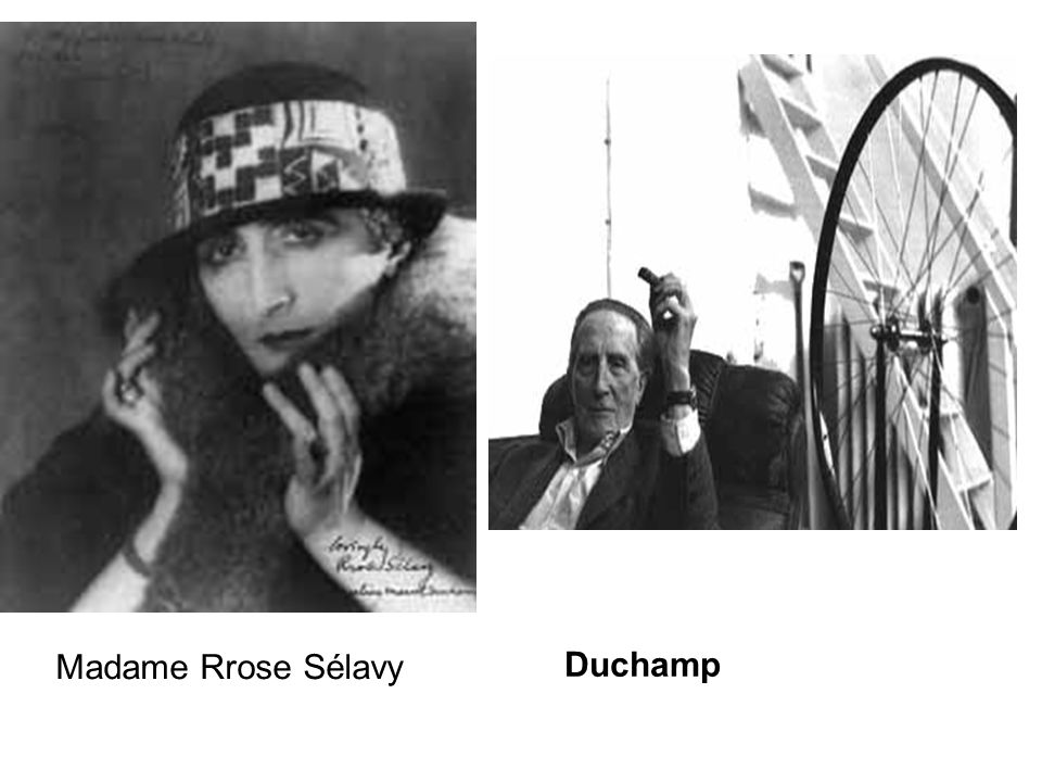 Madame Rrose Sélavy Duchamp