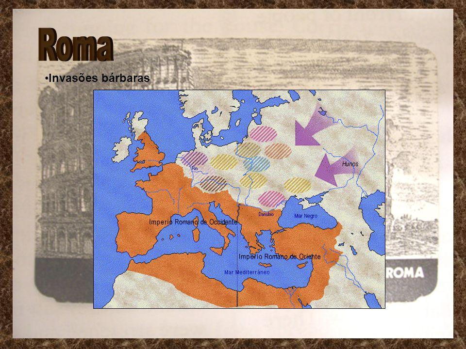 Roma Invasões bárbaras