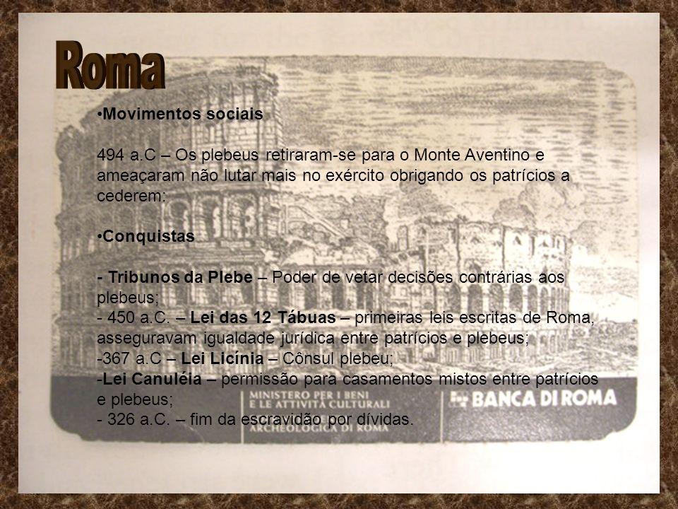 Roma Movimentos sociais