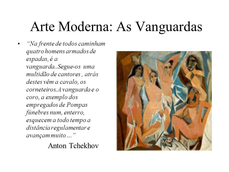 Arte Moderna: As Vanguardas