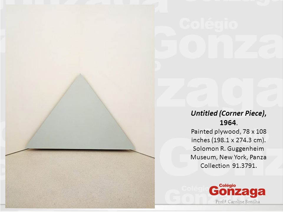 Untitled (Corner Piece), 1964.