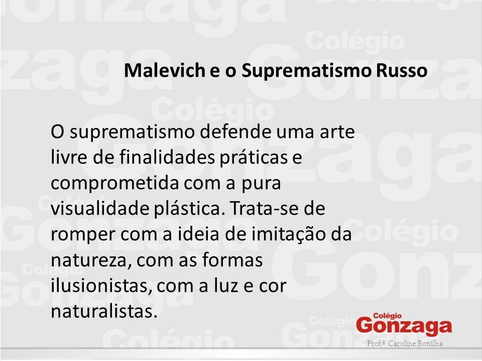 Malevich e o Suprematismo Russo