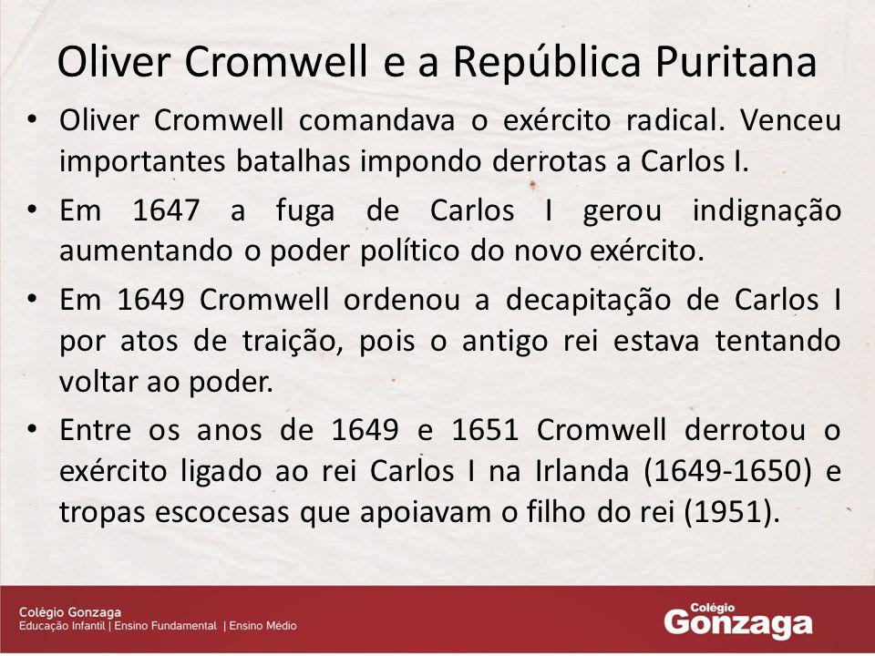 Oliver Cromwell e a República Puritana