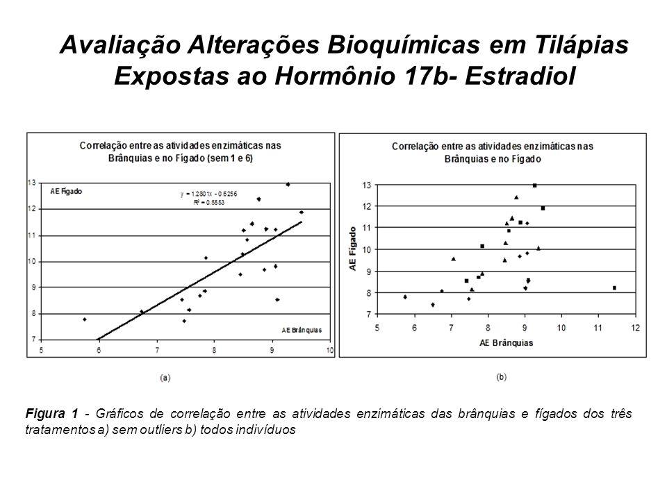 Avaliação Alterações Bioquímicas em Tilápias Expostas ao Hormônio 17b- Estradiol